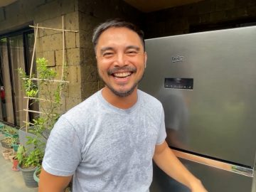 Marvin Agustin is a Beko HarvestFresh user