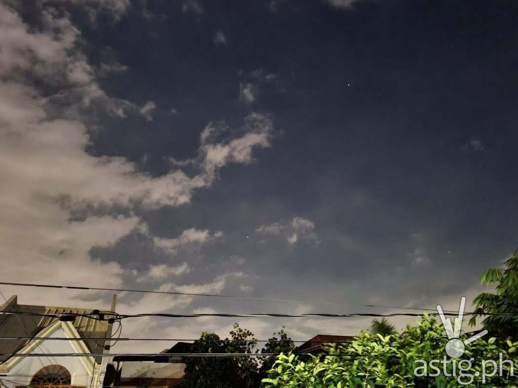 Night mode sample photo - Samsung Galaxy S21+ 5G