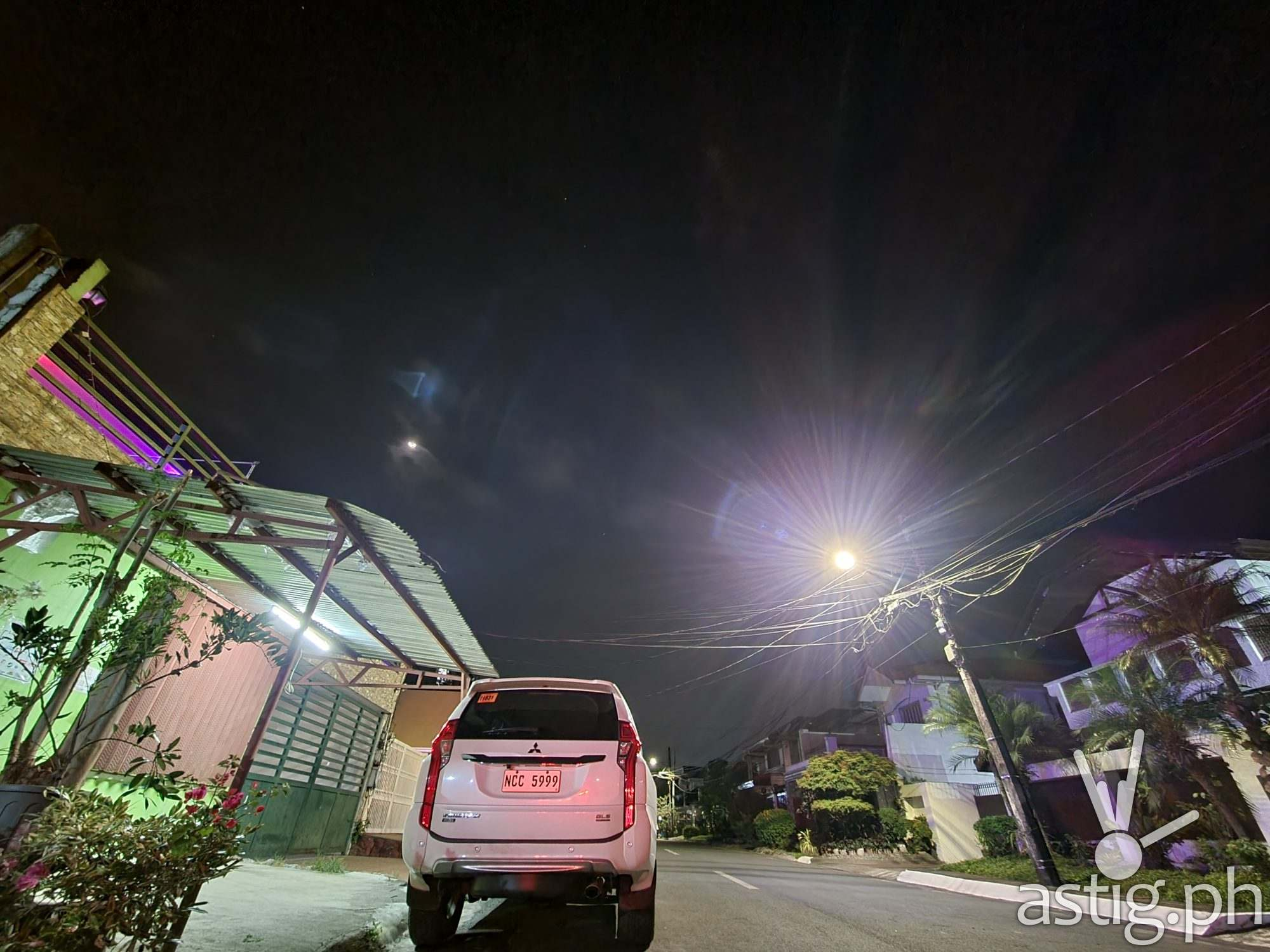 Night mode ultrawide sample photo - Samsung Galaxy S21+ 5G