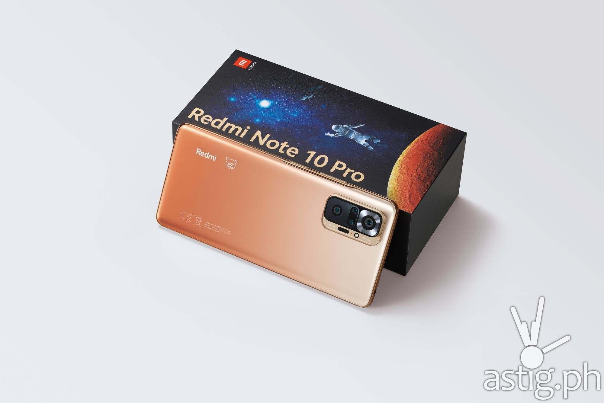 Phone & box - Redmi Note 10 Pro Mi Fan Festival Special Edition