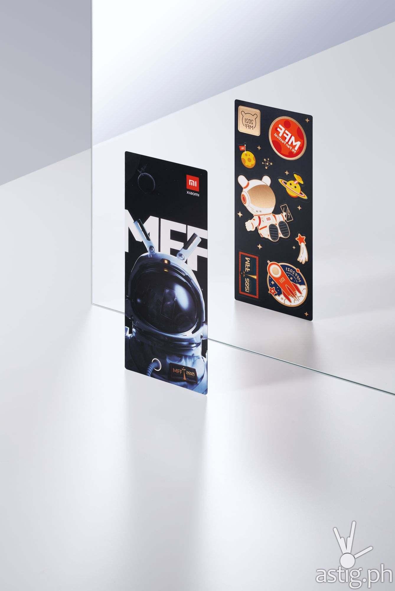 Postcard & sticker - Redmi Note 10 Pro Mi Fan Festival Special Edition