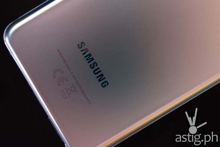 Samsung logo - Samsung Galaxy S21 Plus 5G (Philippines)