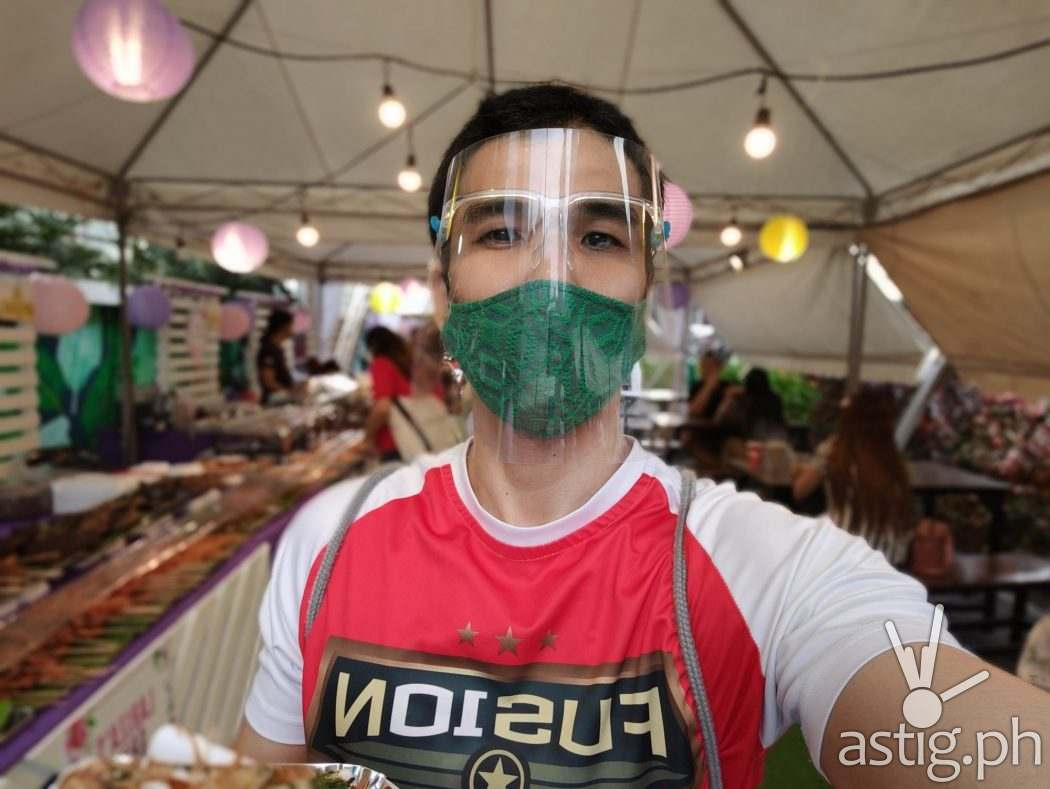 Selfie - OPPO Reno5 5G sample photo (Philippines)