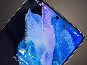 Selfie camera - Samsung Galaxy S21 Plus 5G (Philippines)