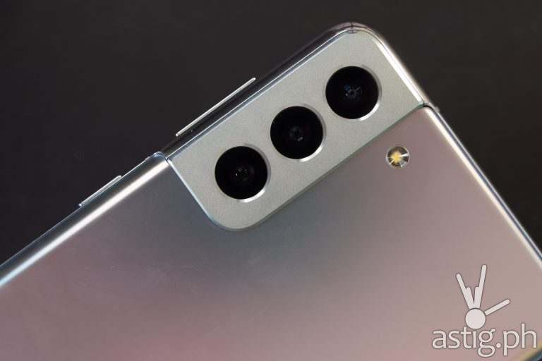 Triple rear cameras - Samsung Galaxy S21 Plus 5G (Philippines)