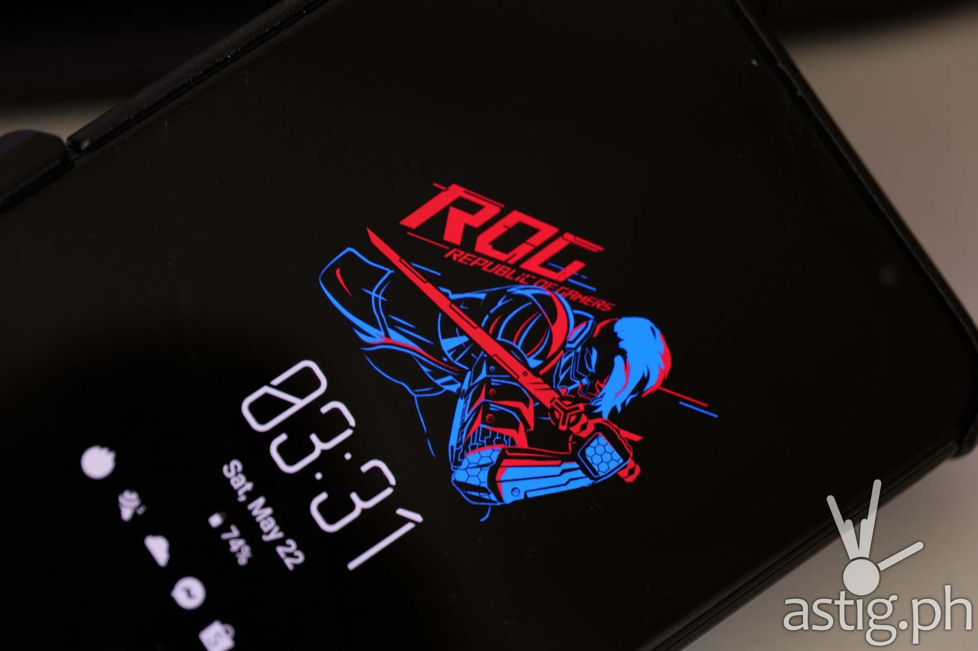 Akira theme (always on disaplay)- ROG Phone 5 (Philippines)