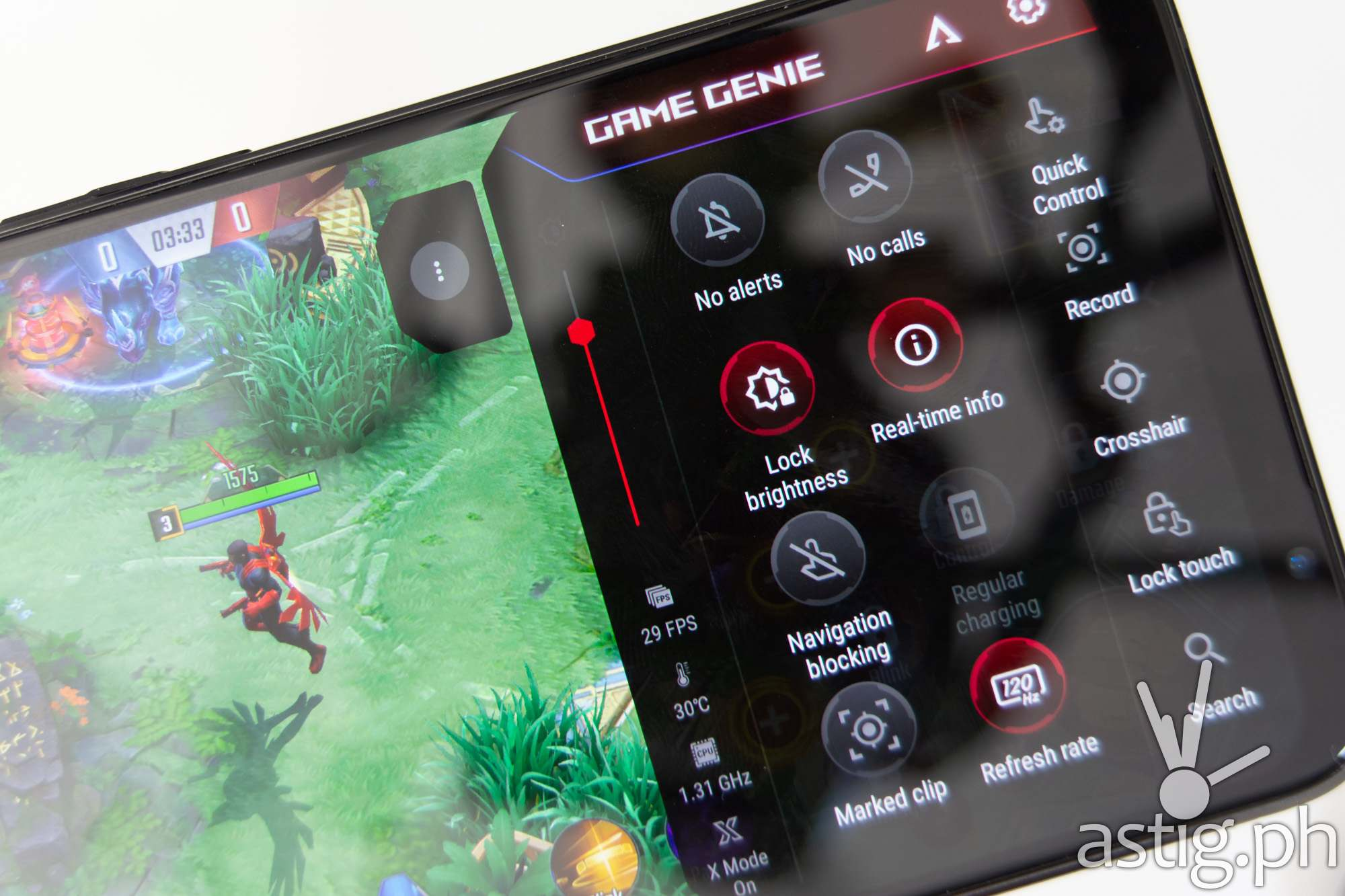 Game Genie in-game - ROG Phone 5 (Philippines)