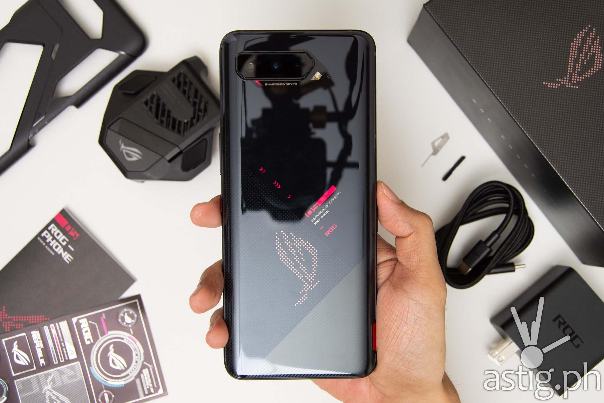 Handheld back - ROG Phone 5 (Philippines)