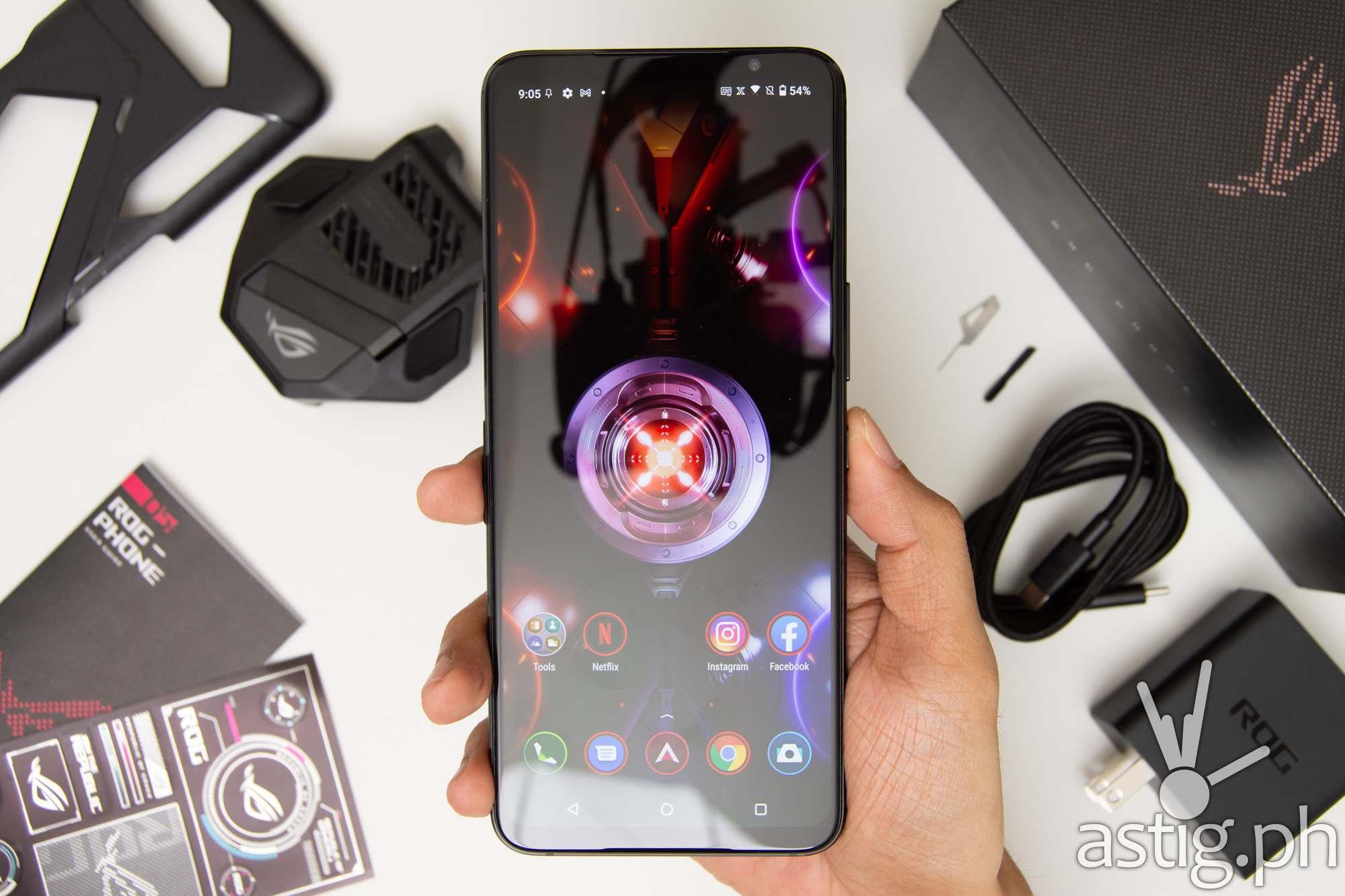 Handheld front X-Mode - ROG Phone 5 (Philippines)
