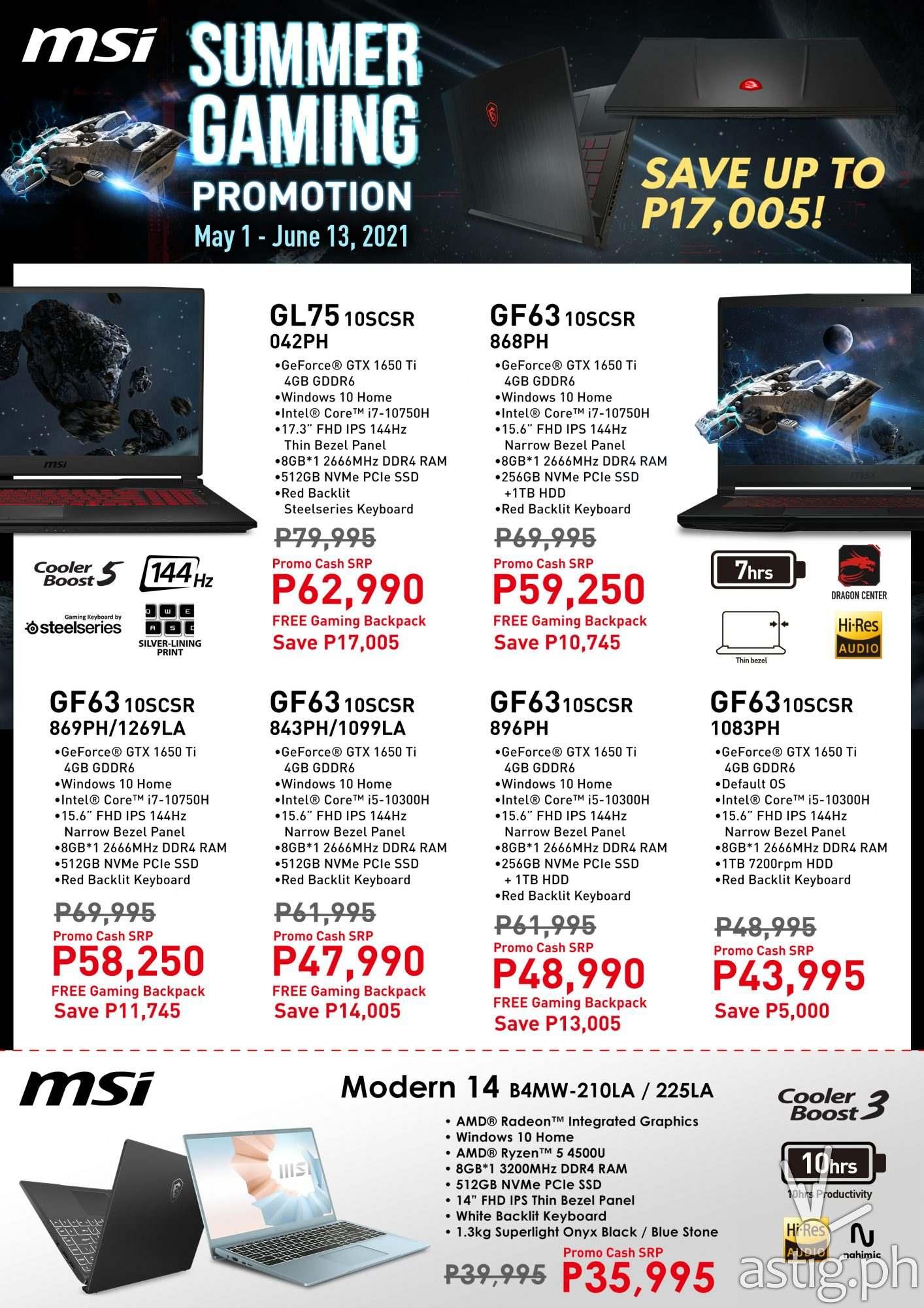 MSI Summer Gaming Pro