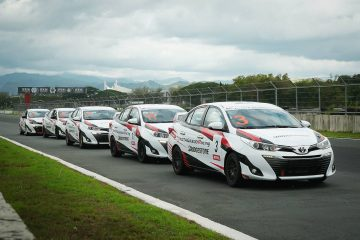 Motorsports enthusiasts get to feel the thrill behind the wheel at the Clark International Speedway