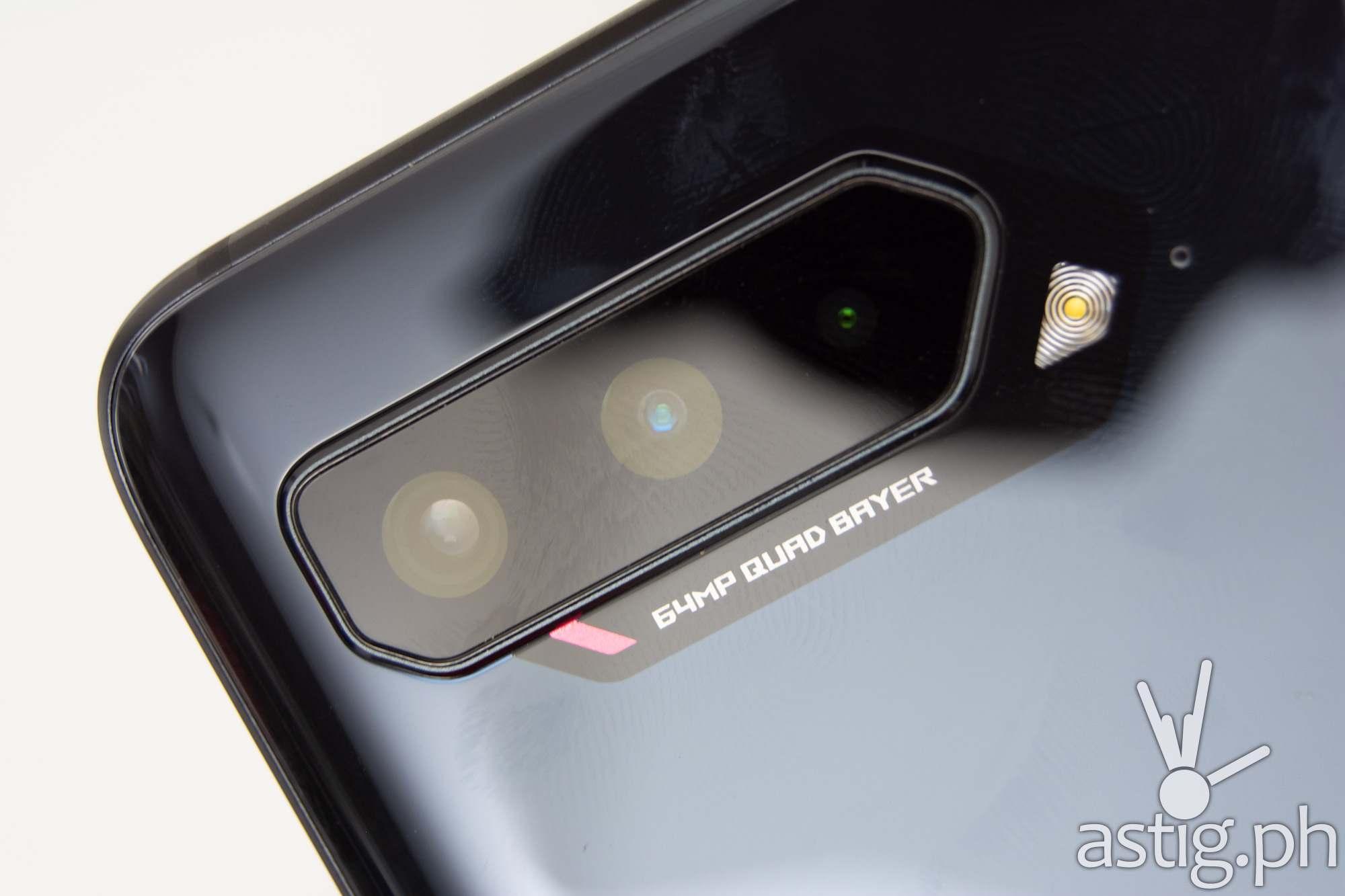 Rear camera closeup - ROG Phone 5 (Philippines)