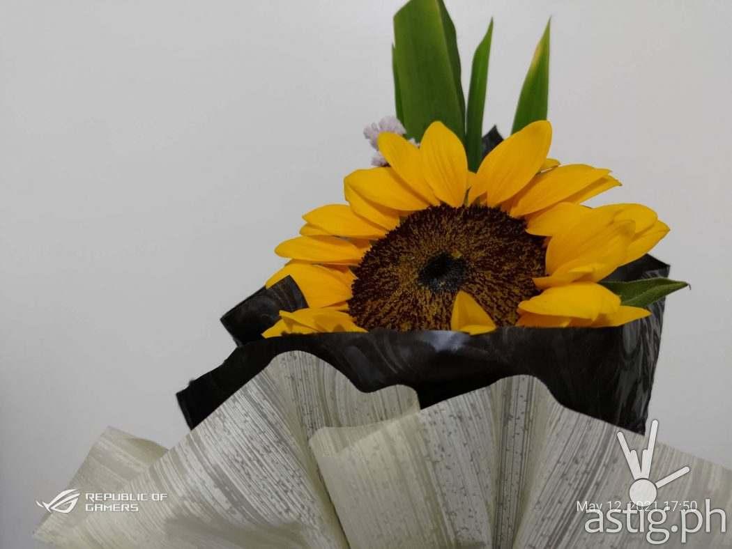 Sunflower - ROG Phone 5 sample photo