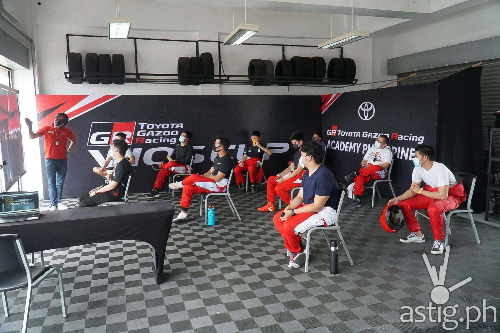 The TOYOTA GAZOO Racing Academy teaches the country's aspiring racers and future professionals basic and advanced skills