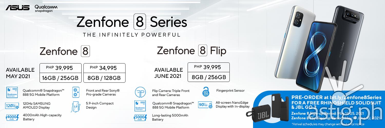 Zenfone 8 Pre-order Details