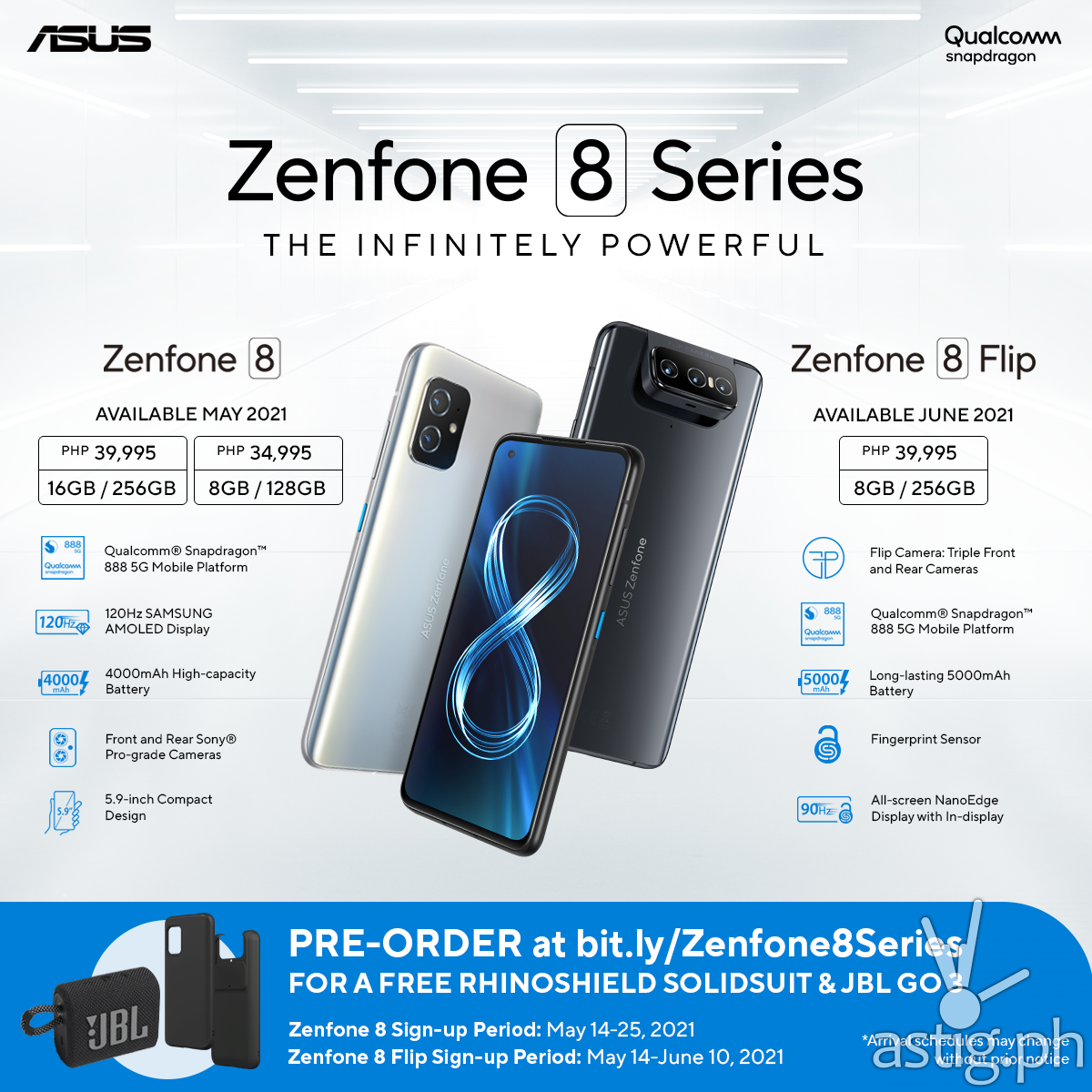 Zenfone 8 Pre-order Details Philippines