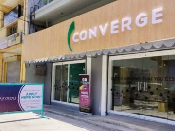 New Business Center of Converge in Dasmarinas, Cavite