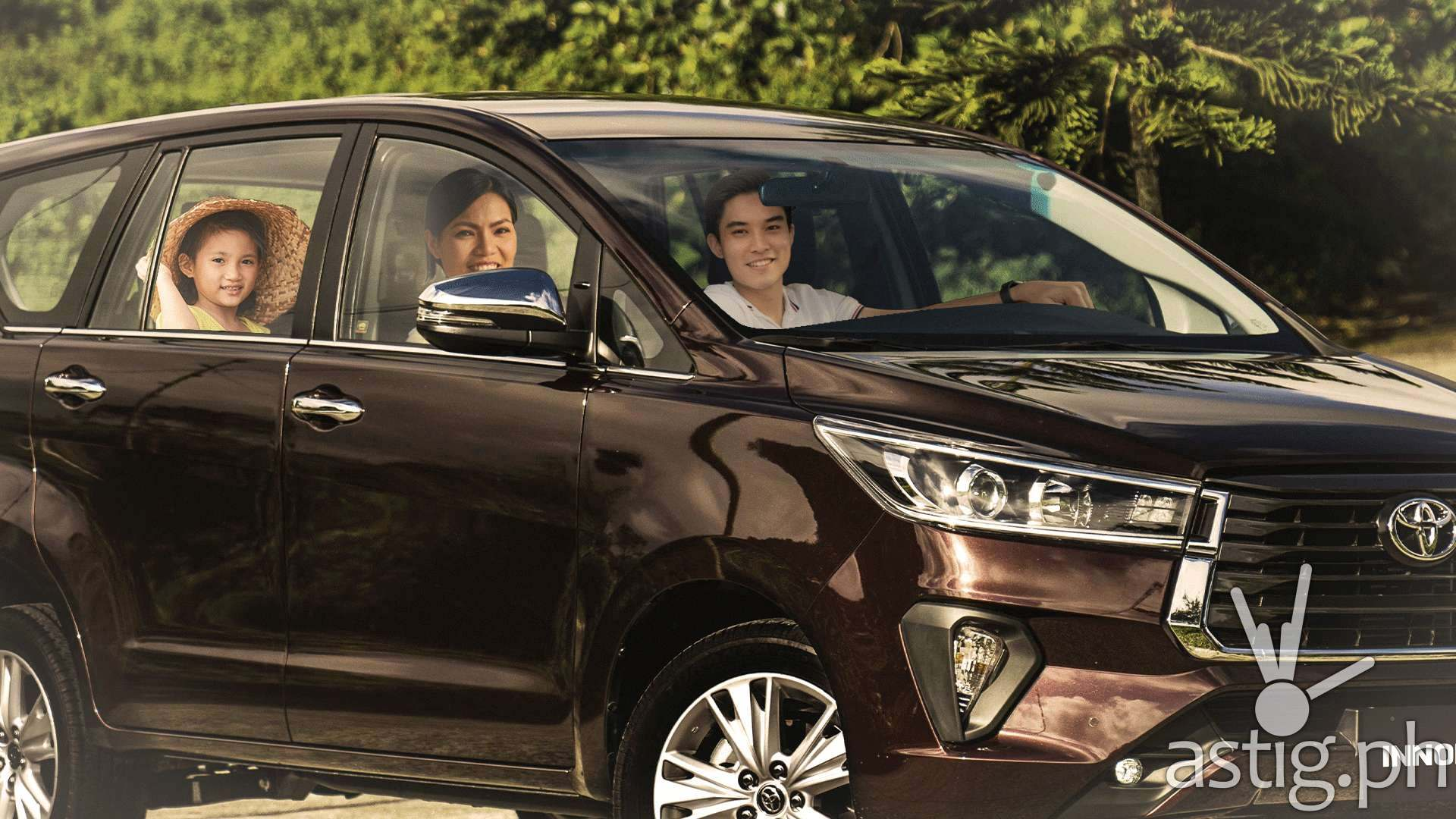 Share more stories and strengthen family bonding with the all-new Toyota Innova