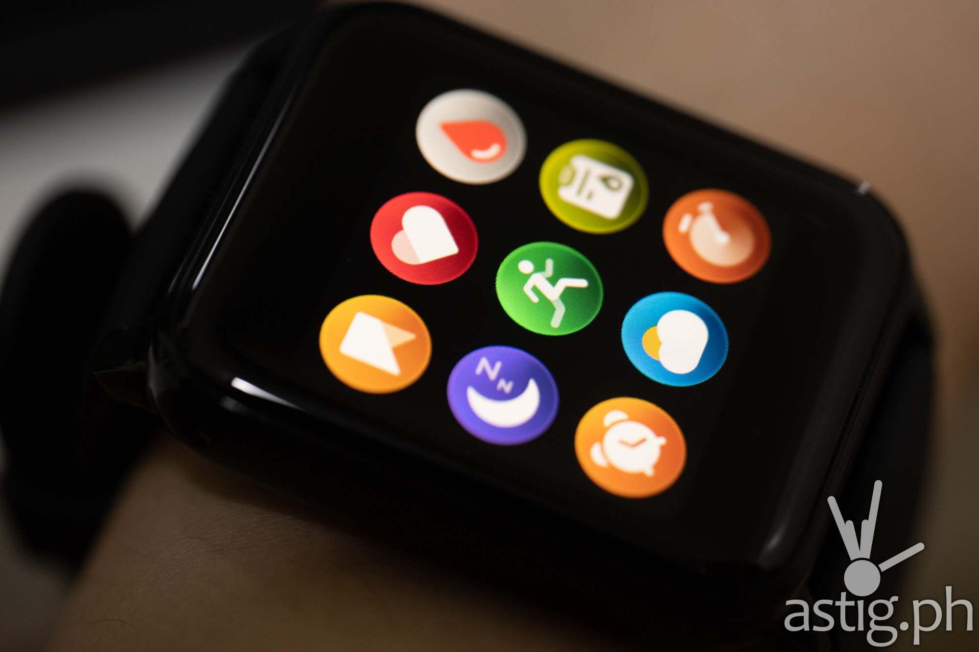 App shortcuts - realme Watch 2 (Philippines)
