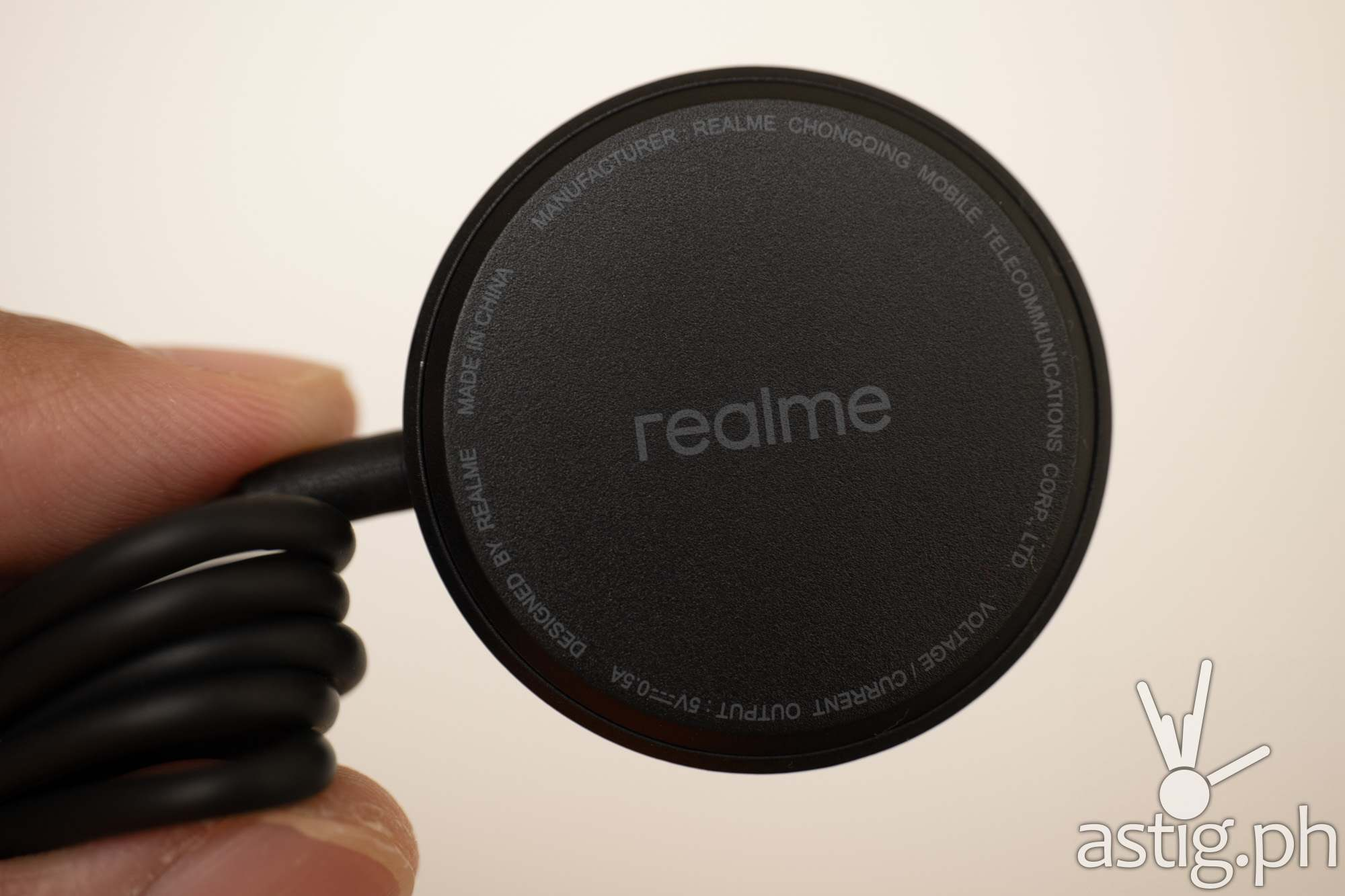 Charger back - realme Watch 2 (Philippines)