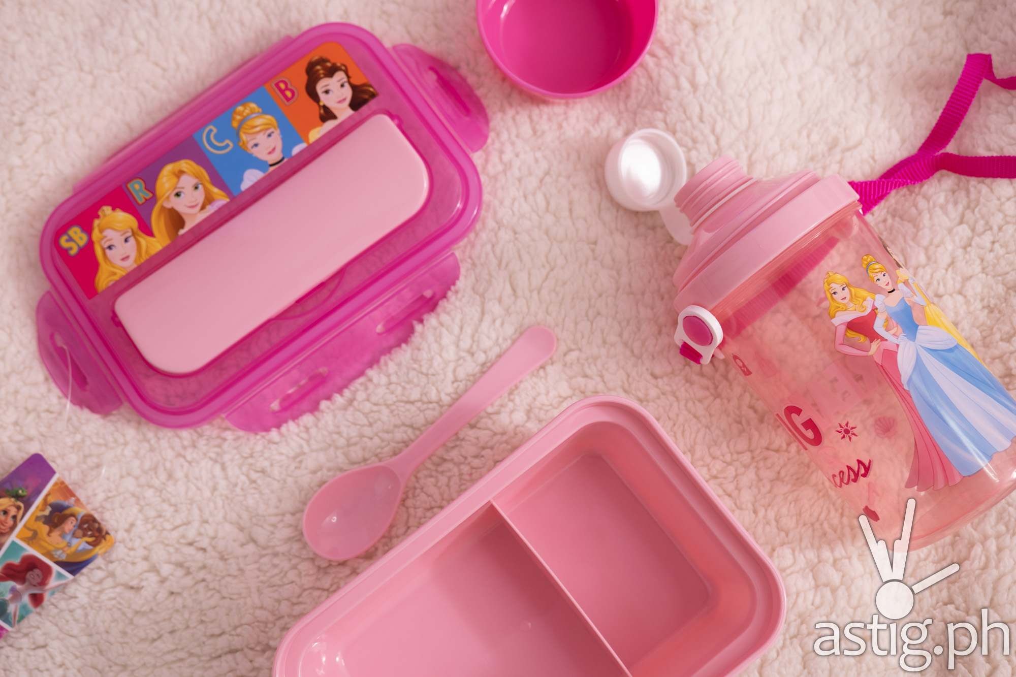 Disney Princess food keeper and water bottle set