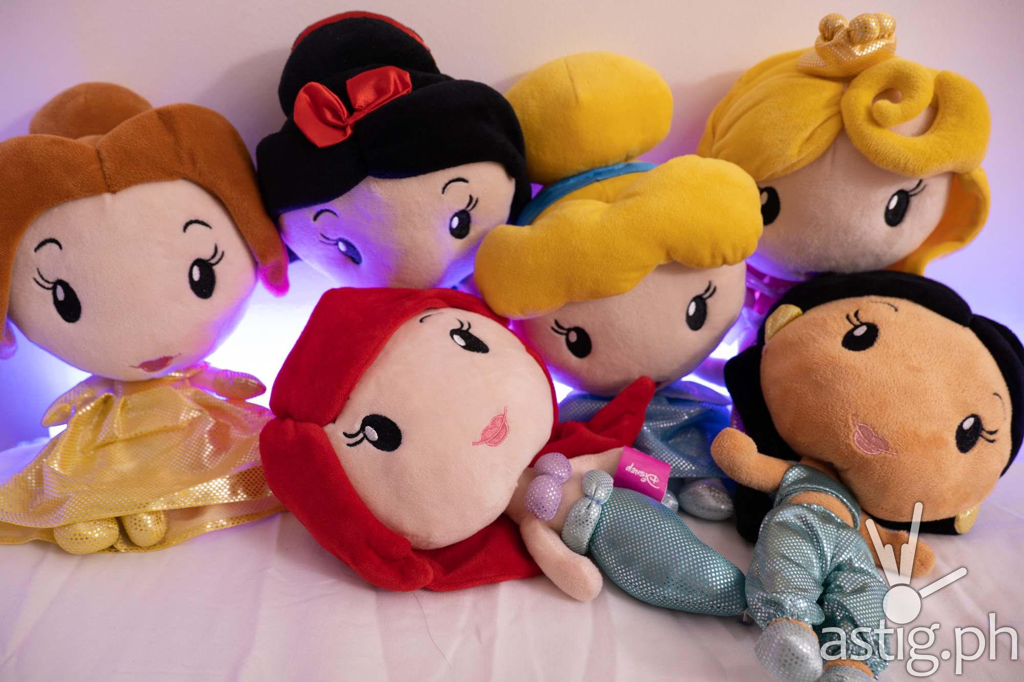 Disney Princess plush doll set