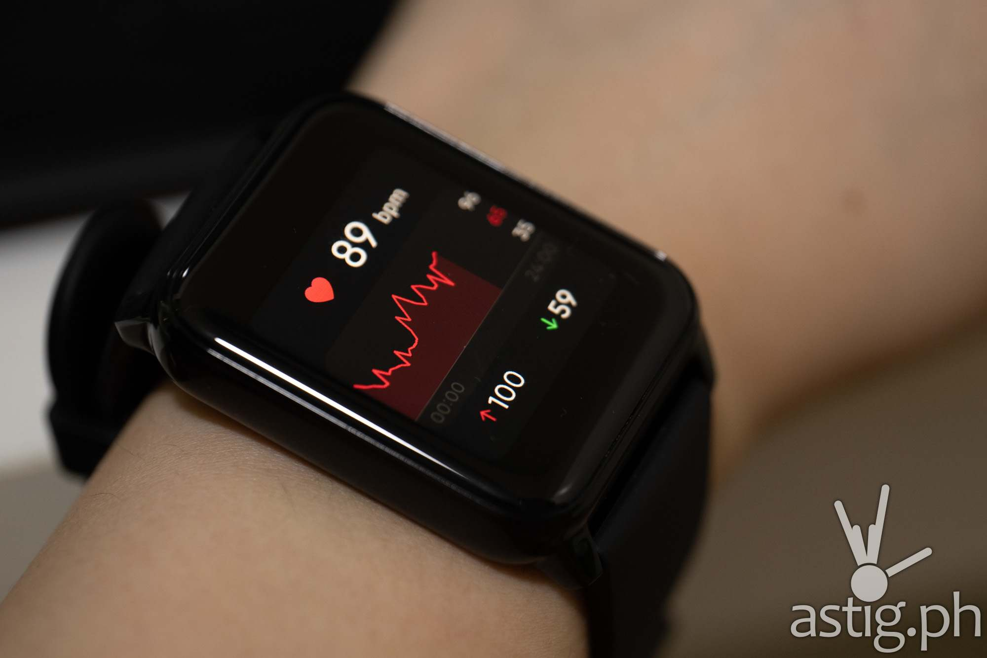 Heart rate monitor - realme Watch 2 (Philippines)