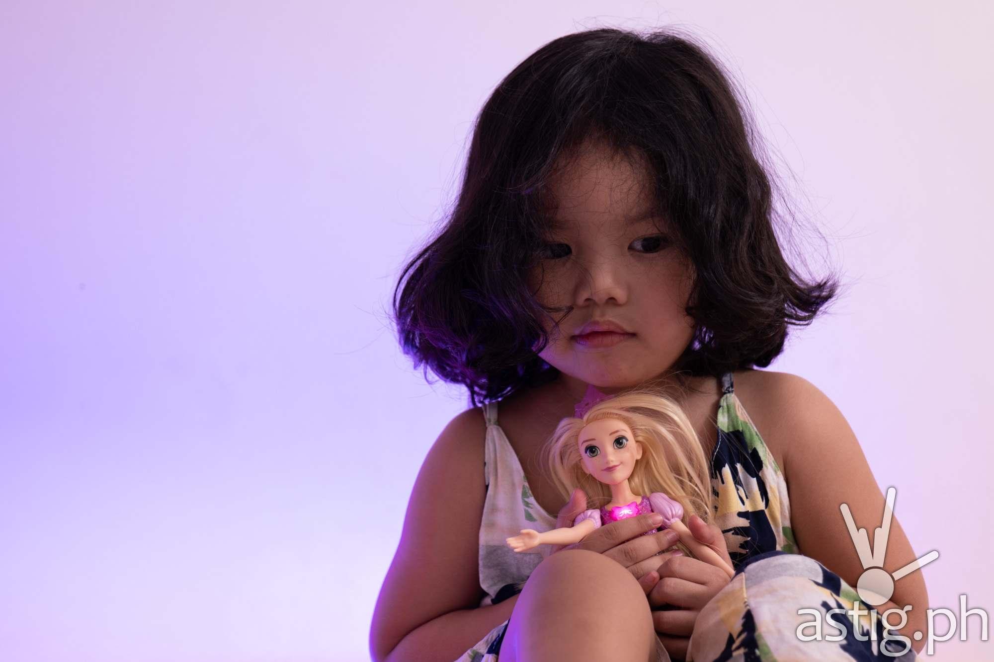 Rapunzel Shimmering Song singing doll