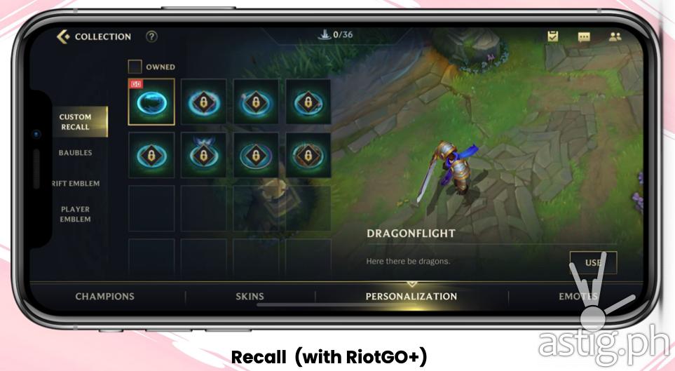 Recall (with RiotGO+) - Globe RiotGO promo (Philippines)
