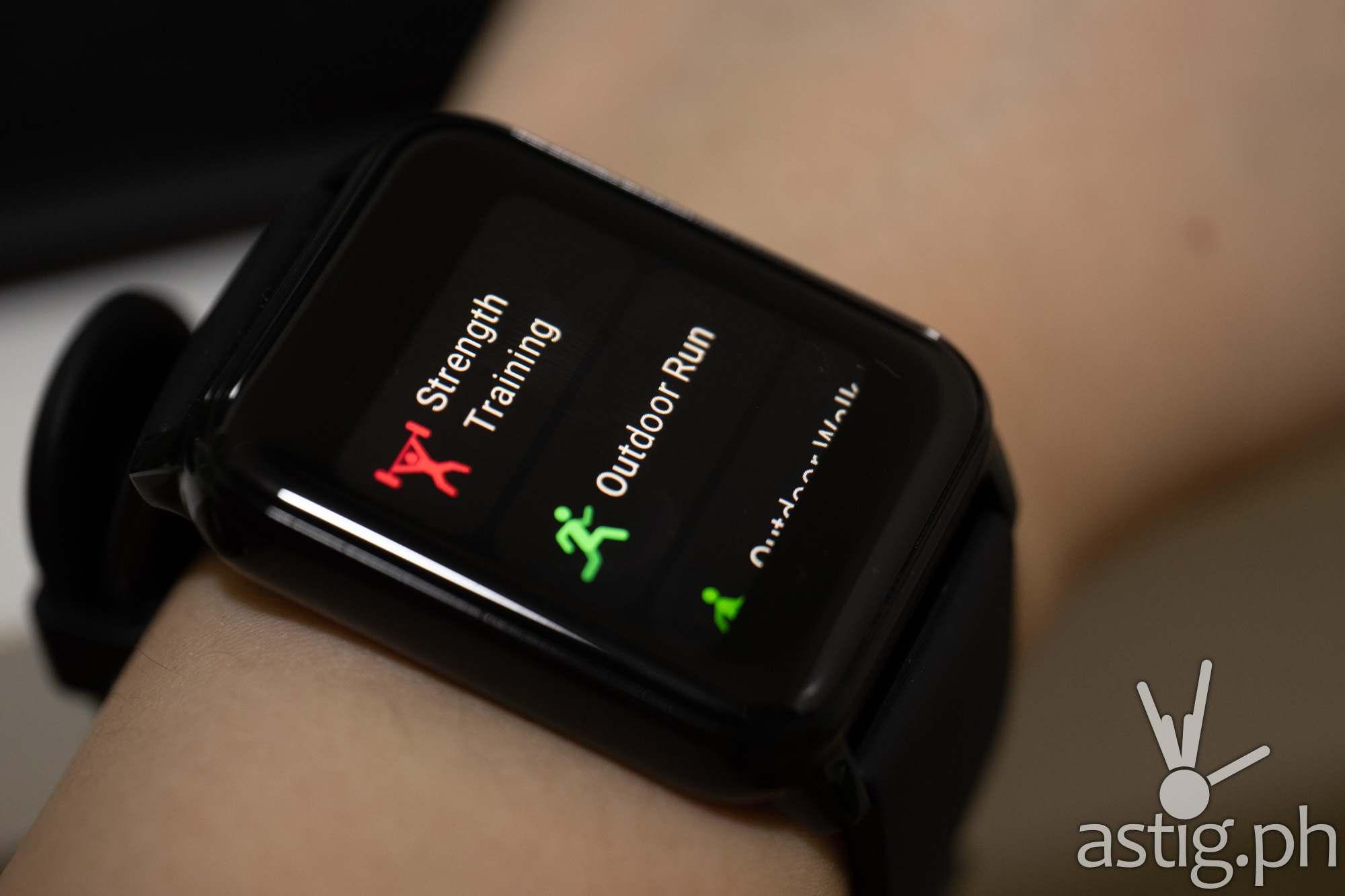 Sport modes - realme Watch 2 (Philippines)