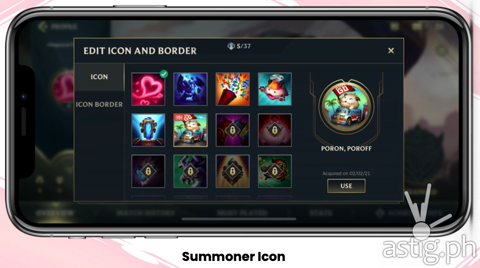 Summoner Icon - Globe RiotGO promo (Philippines)