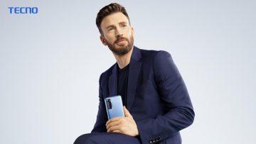 Chris Evans TECNO mobile global brand ambassador