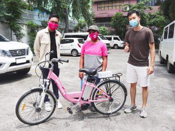 Zania Rose Barboza, a foodpanda lady biker became viral