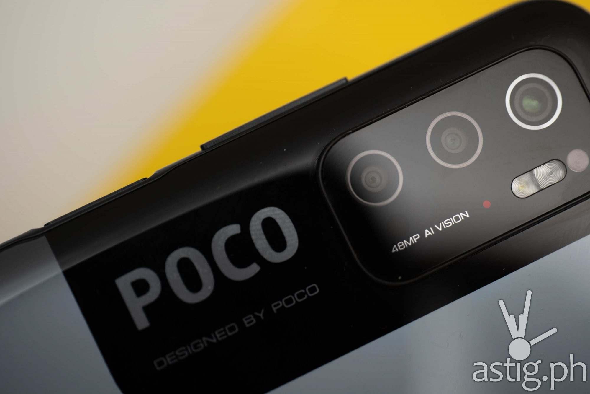 Camera module closeup - POCO M3 Pro 5G (Philippines)