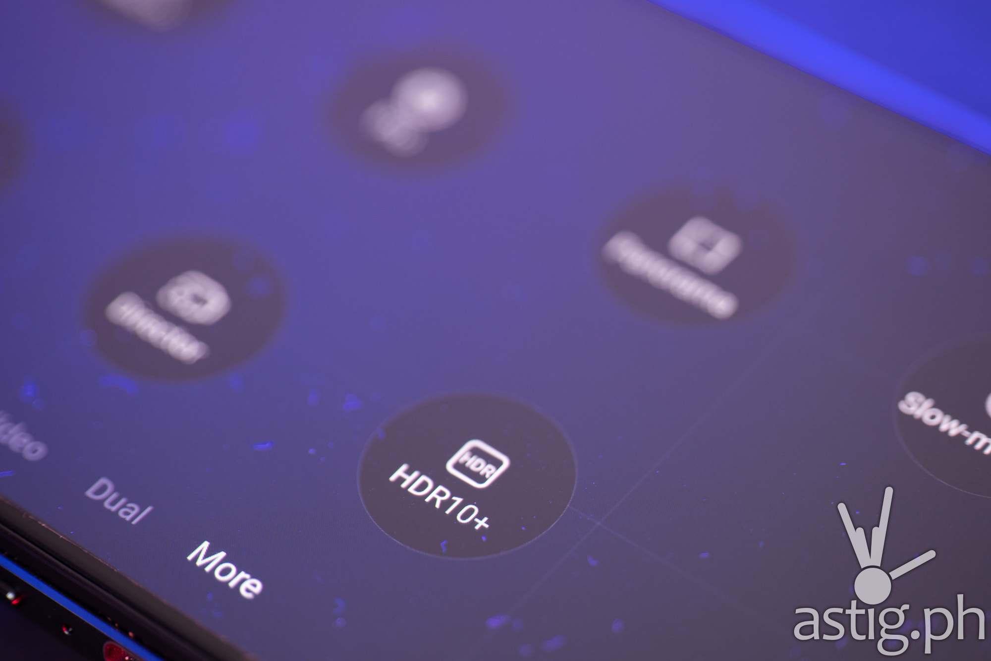 Camera settings - Legion Phone Duel 2 (Philippines)