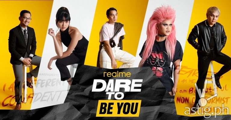 Dare To Be You campaign - realme Philippines