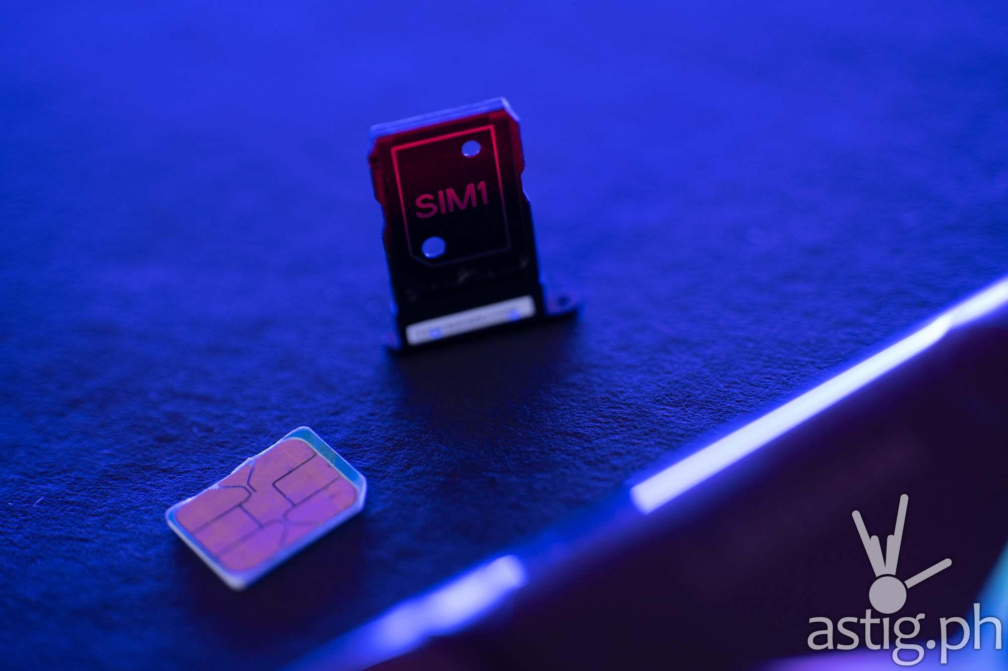 Dual SIM tray - Legion Phone Duel 2 (Philippines)