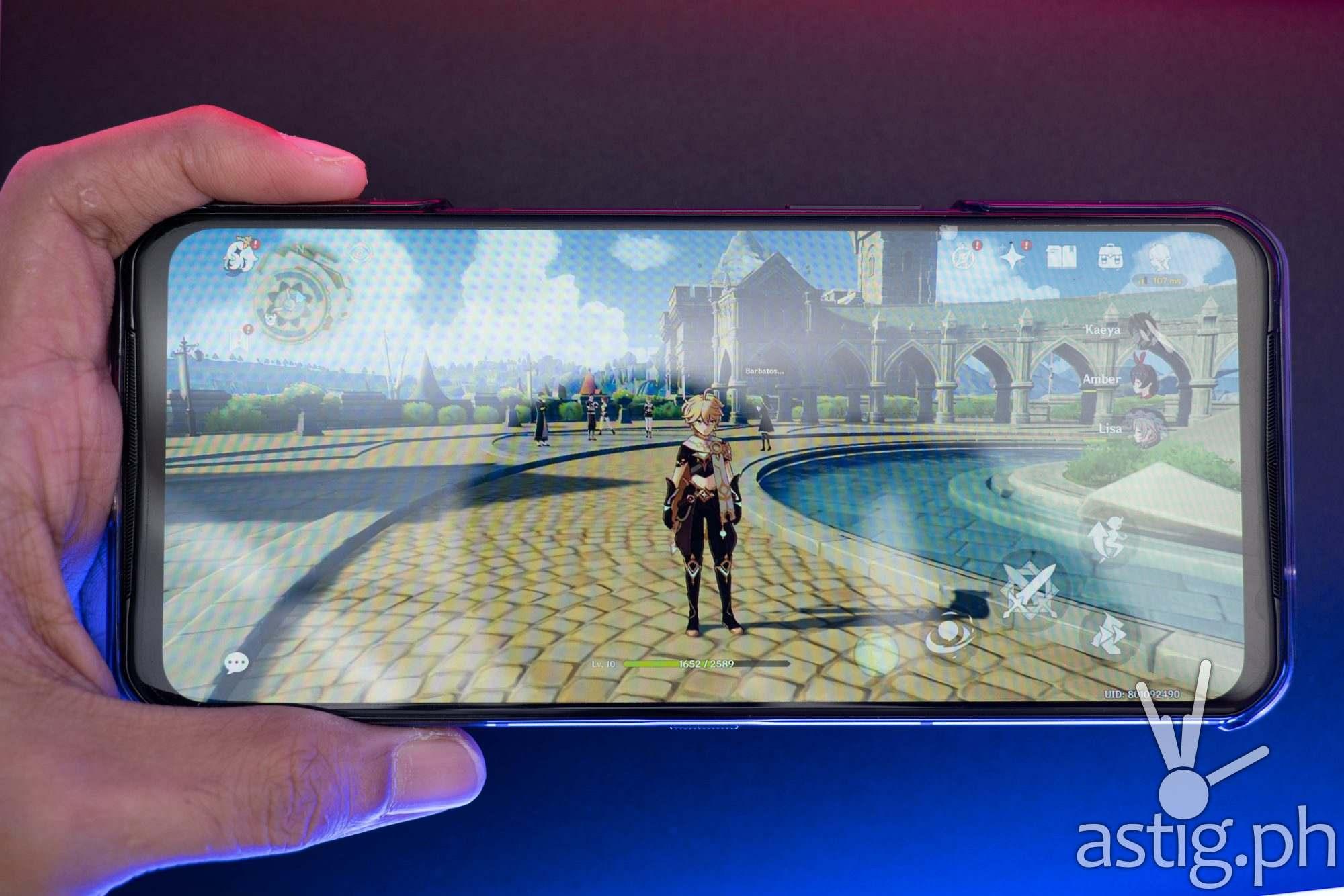 Genshin Impact handheld - Legion Phone Duel 2 (Philippines)