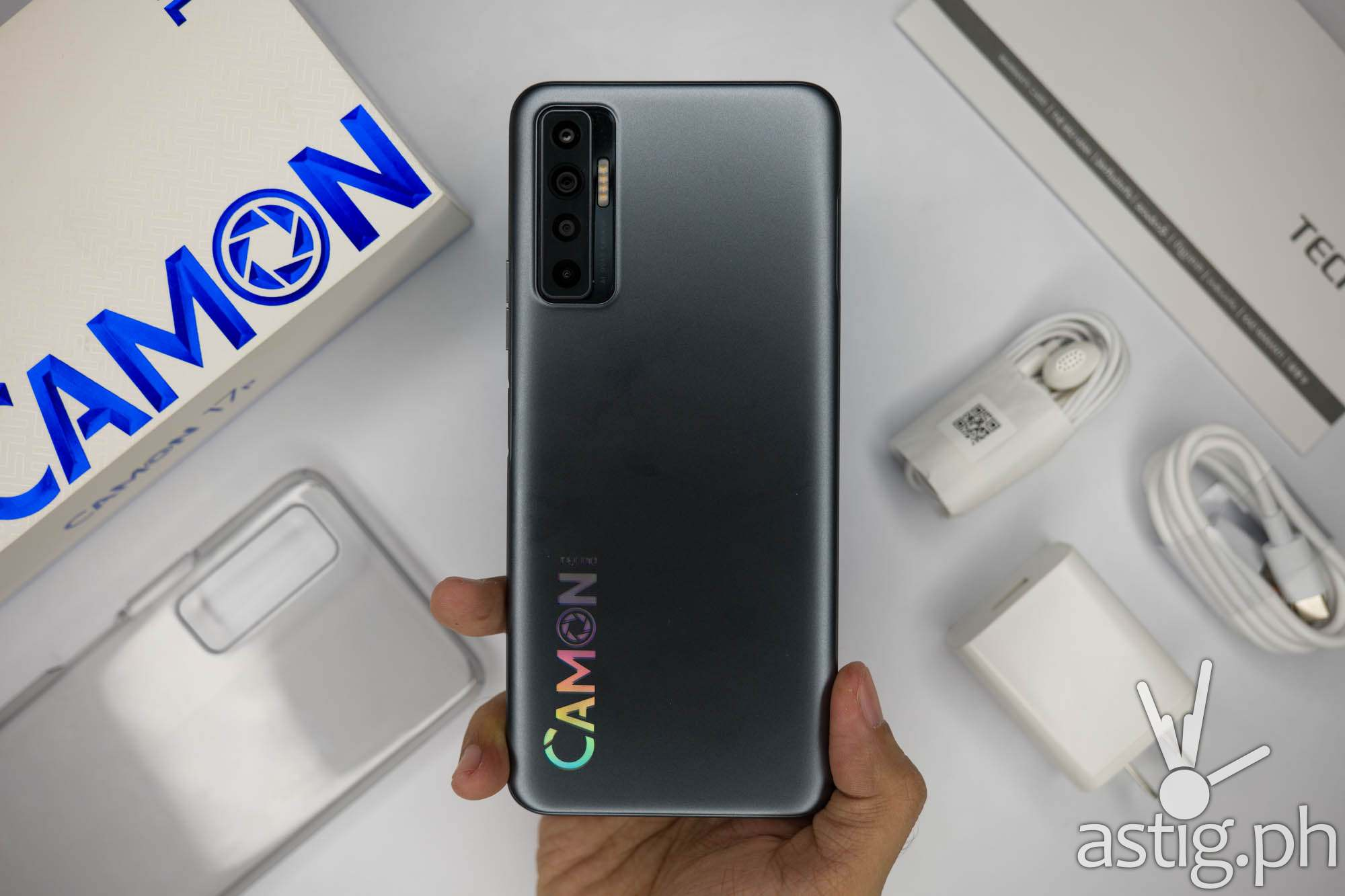 Handheld back - TECNO Camon 17P (Philippines)