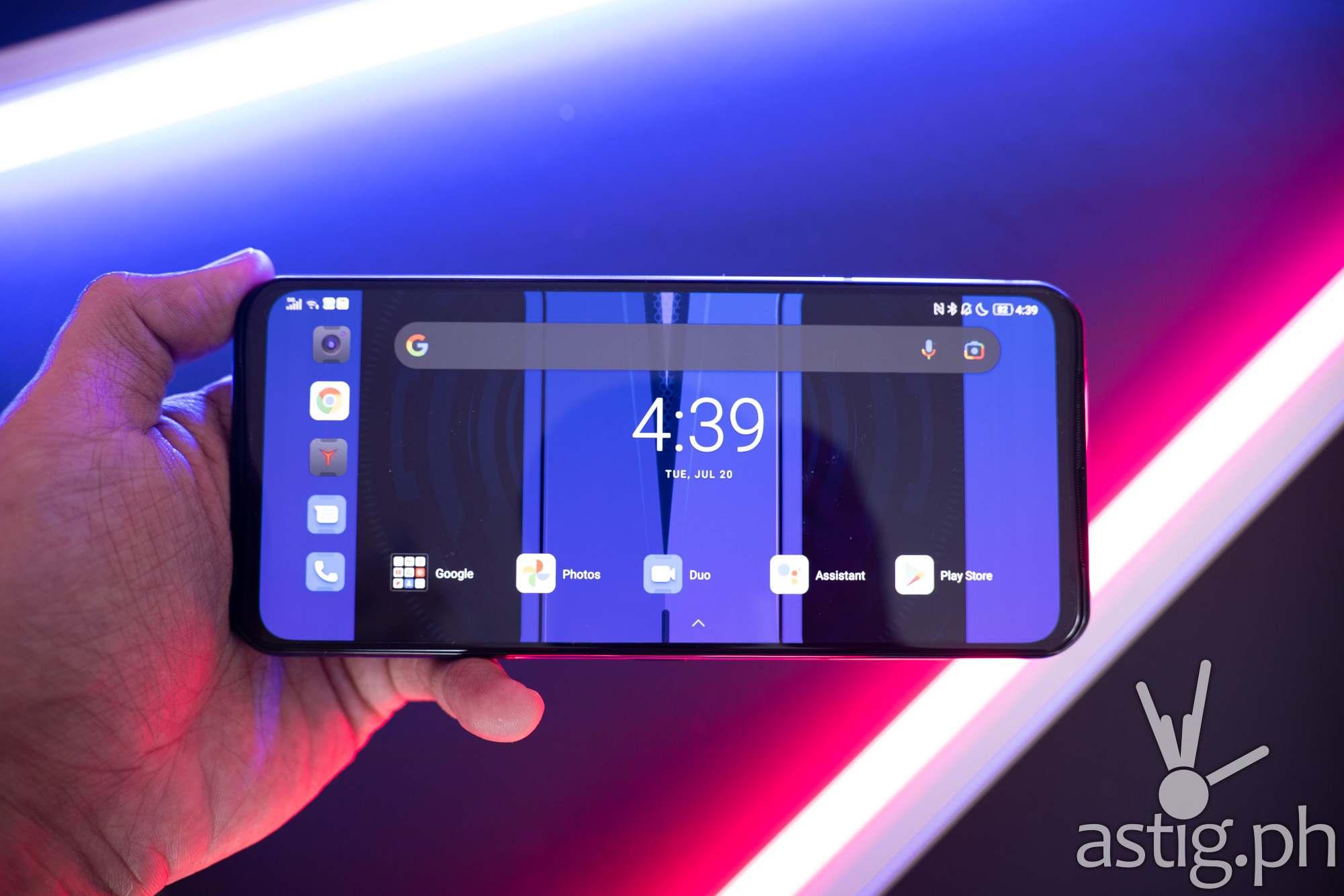 Handheld landscape front - Legion Phone Duel 2 (Philippines)