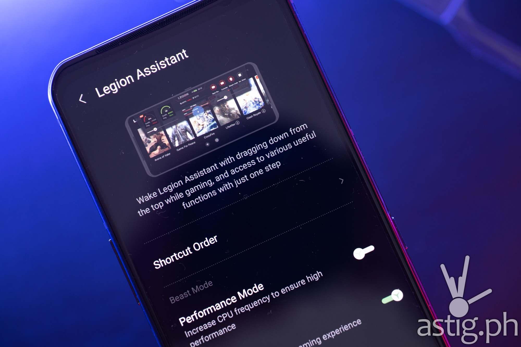 Legion Assistant - Legion Phone Duel 2 (Philippines)