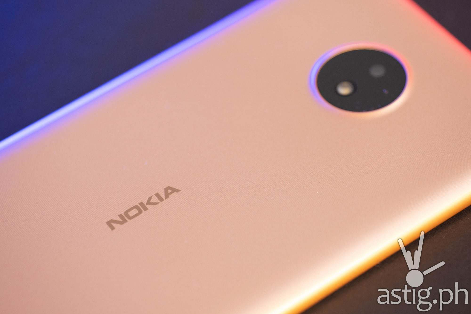 Nokia logo - Nokia C20 (Philippines)