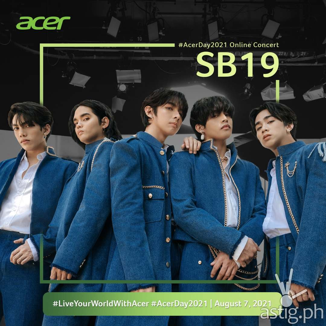 SB19 joins #AcerDay2021