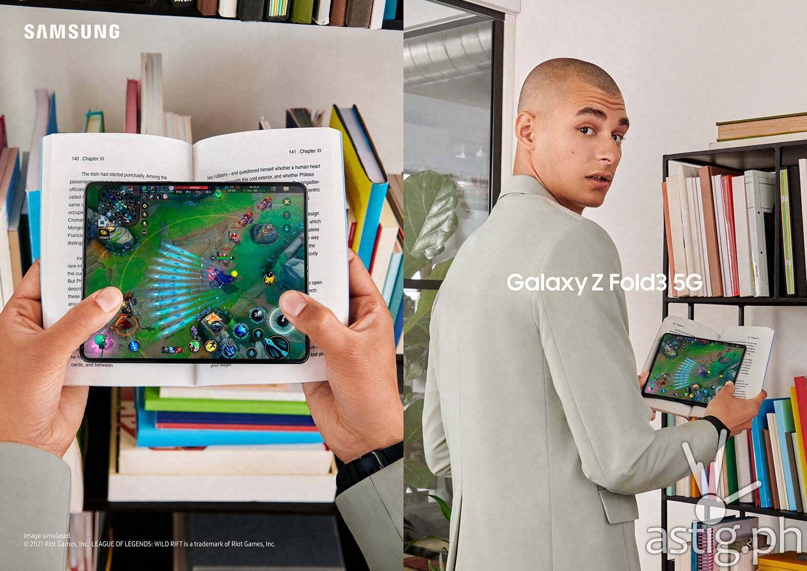 Samsung Galaxy Z Fold3 5G gaming (Philippines)