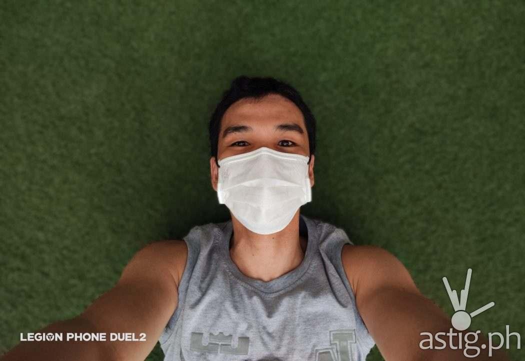 Selfie outdoors - Lenovo Legion Duel 2 sample photo