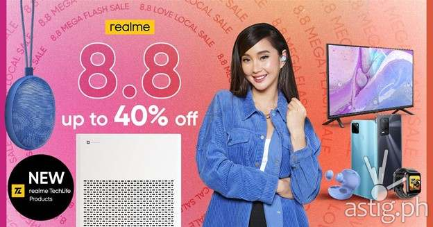 realme Air Purifier and realme Cobble Bluetooth Speaker - realme sale 8.8