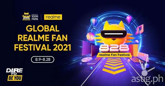realme Dare To Be You global fan fest