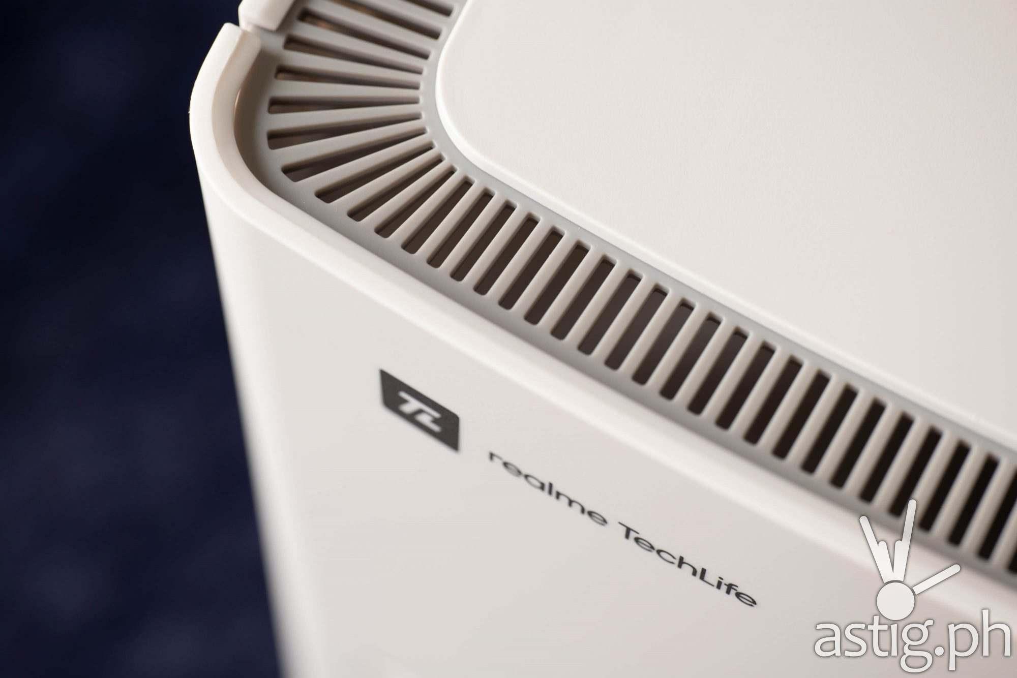 realme TechLife logo closeup - realme TechLife Air Purifier