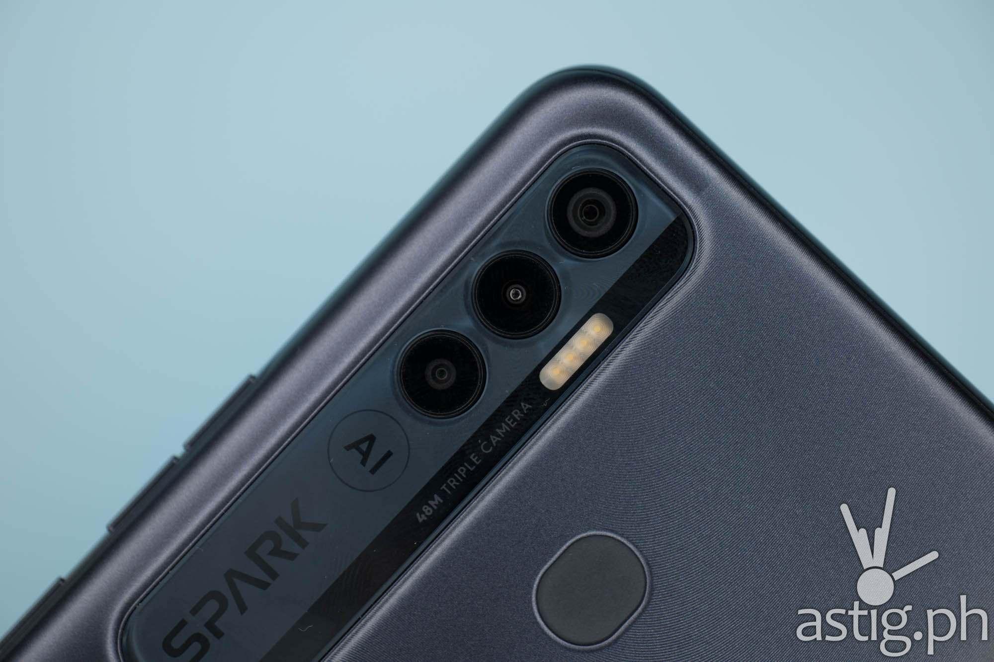 48MP triple cameras - TECNO Spark 7 Pro