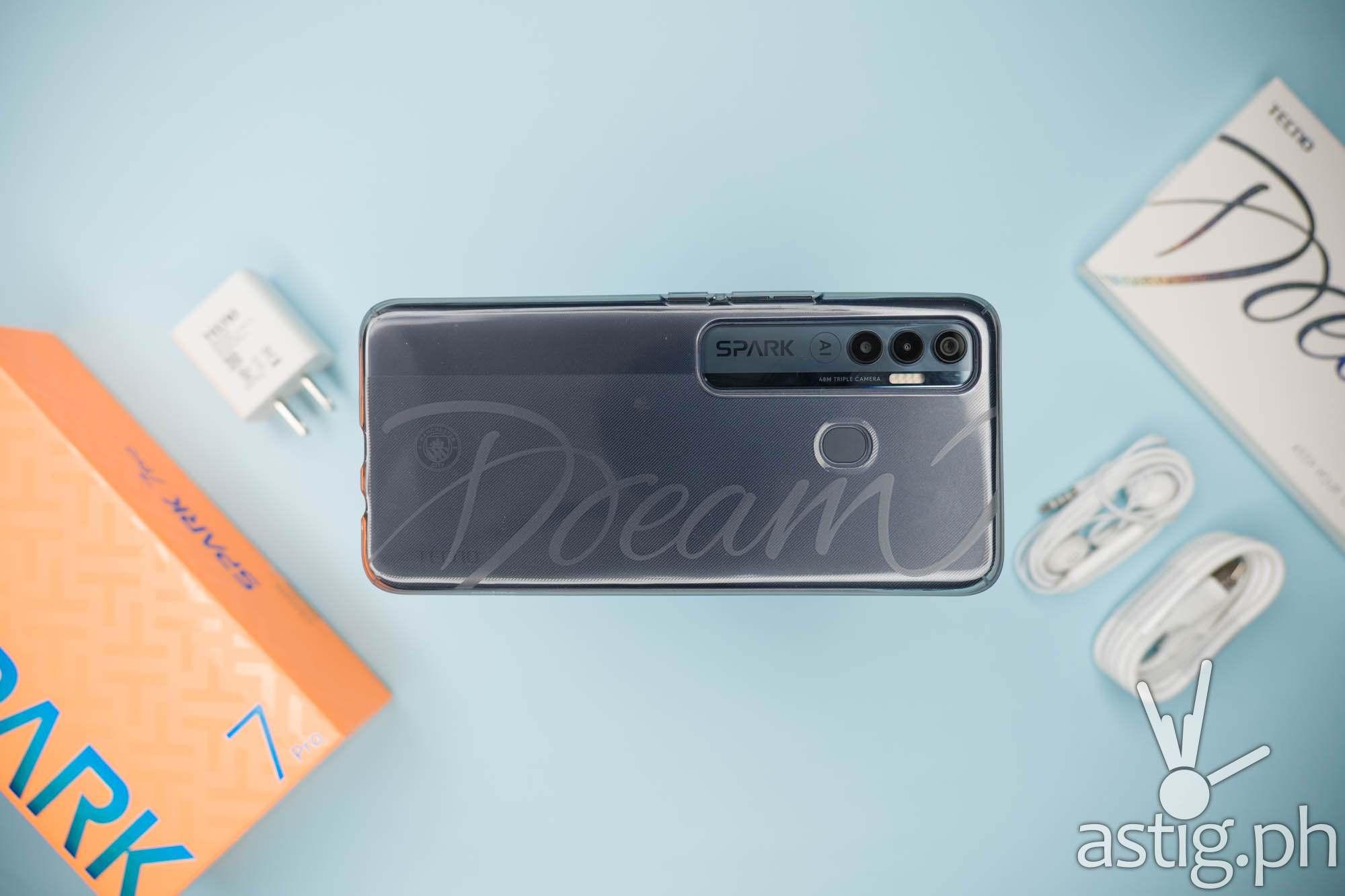 Back with Dream jelly case - TECNO Spark 7 Pro